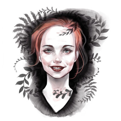 digital portrait illustration