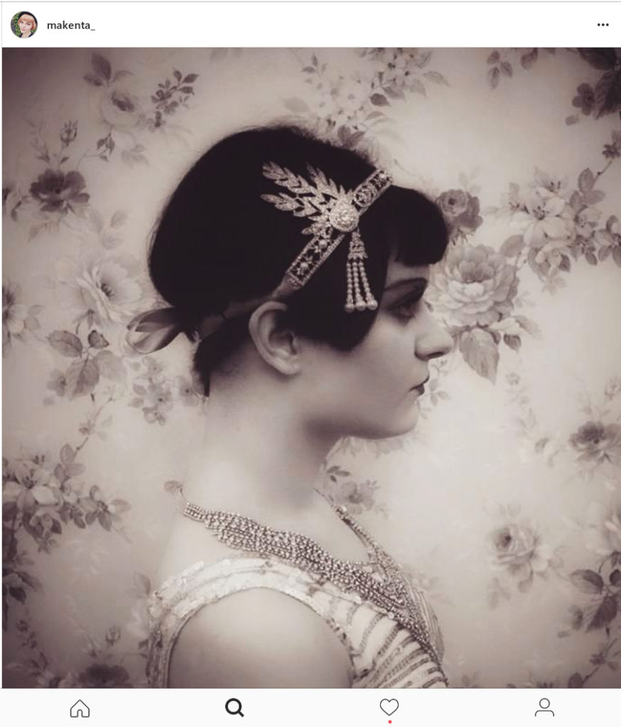 Makenta as Flapper Girl