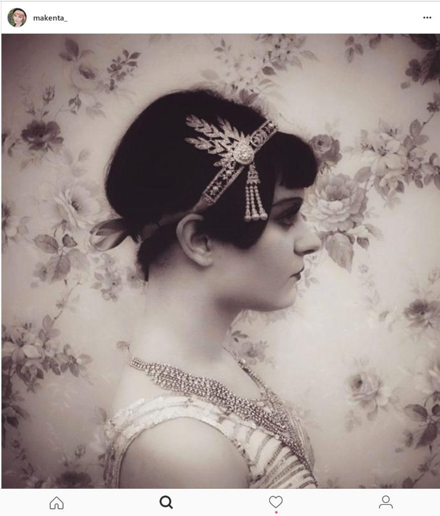 Makenta as Flapper Girl