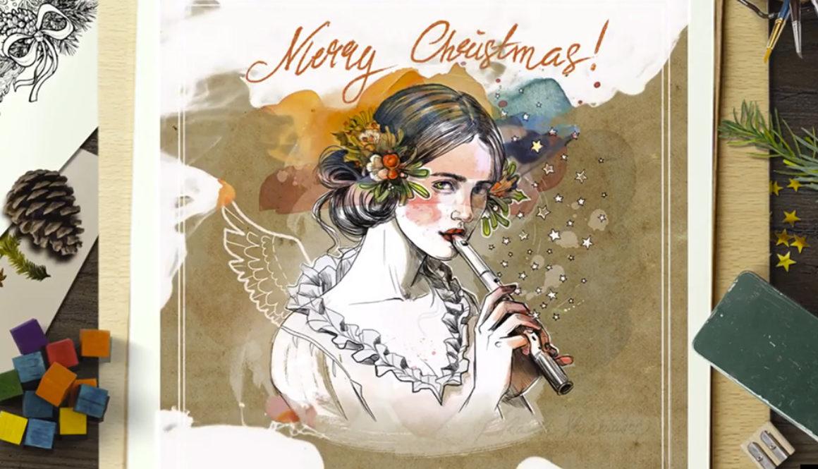 Świąteczne ilustracje