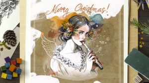 Christmas wishes illustrations and choices