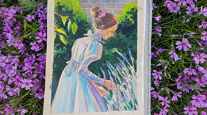 5 reasons why you should try gouache + video process