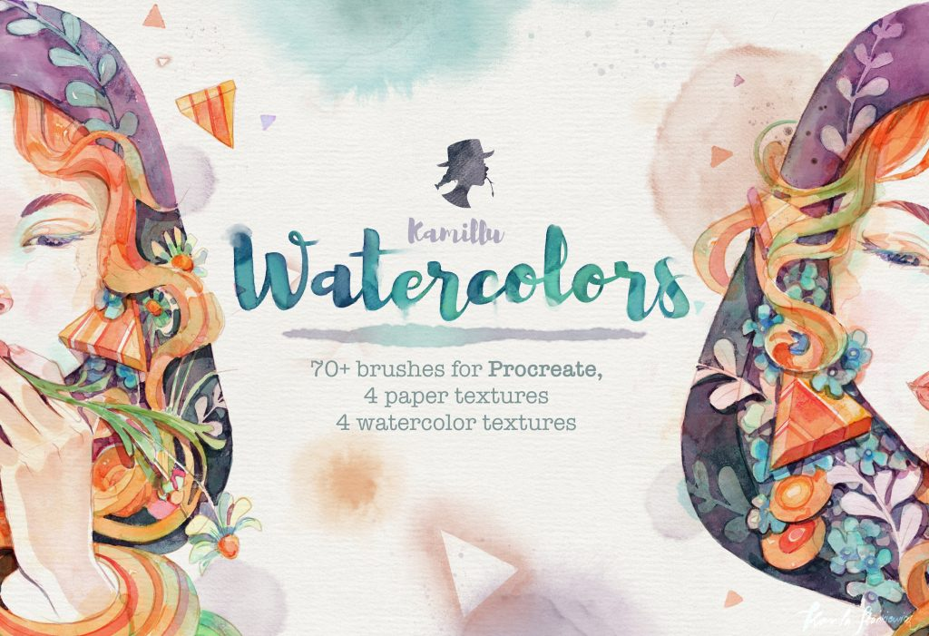 Watercolor brushes procreate