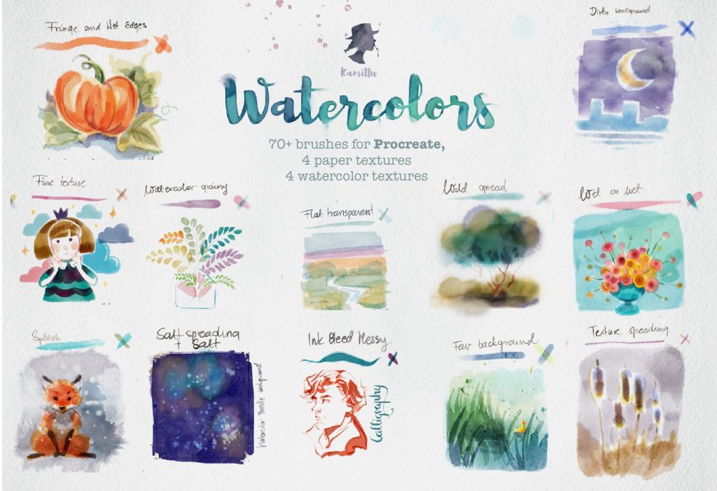 This image has an empty alt attribute; its file name is Watercolors-examples2-1024x701.jpg